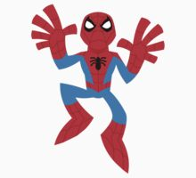 """SpideyFriend"" Sticker by DrWow"