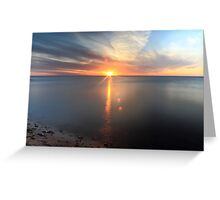 The Beaty of a Sunset Greeting Card