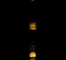 Stairway to the Moon with reflection by Julia Harwood