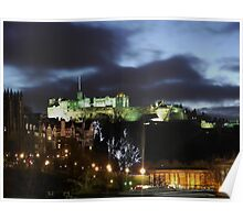 Christmas in Edinburgh Poster