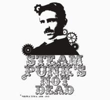 Nikola Tesla was a punk Kids Clothes