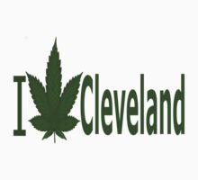 0129 I Love Cleveland  T-Shirt