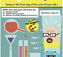 Heisenberg's Chemistry Set by malobi