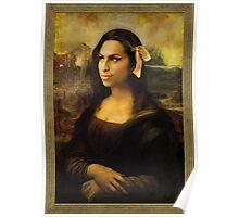 Gioconda Winehouse Poster