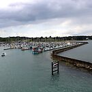 Entrance to Yarmouth Harbour by Antionette