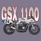 Suzuki GSX1100 Katana by Steve Harvey