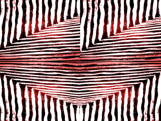 stripes in red by WhiteDove Studio kj gordon