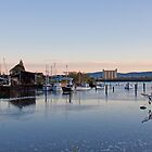 Dry Dock at Dawn by Alastair Creswell