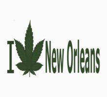 0132 I Love New Orleans by Ganjastan