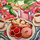 Afternoon Tea by marlene veronique holdsworth