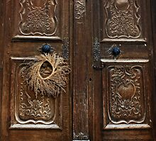 Harvest Door by Lucinda Walter