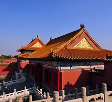 The Forbidden City, Beijing, China. by Ralph de Zilva