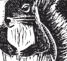 Squirrel: Ready for Winter Sticker