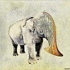 The elephant musician by ganechJoe
