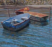 Moored in the sun by Freda Surgenor