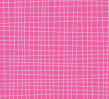 Pink Crosshatch by kwg2200