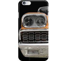 Classic Car (orange) iPhone Case/Skin