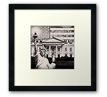 Religious Liberty In America Framed Print