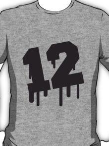 Number 12 Graffiti T-Shirt