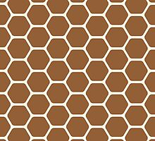 Brown Honeycomb by kwg2200