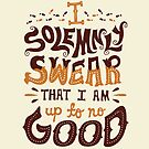 I solemnly swear that I am up to no good by Risa Rodil