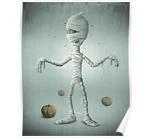 Halloween Mummy Poster