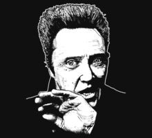 Christopher Walken - Hand Drawn By Myself (Plain) by James Ferguson - Darkinc1