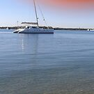 Boats on the Broadwater ! by MardiGCalero
