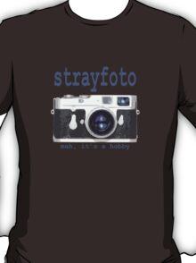 Strayfoto Meh It's A Hobby Logo Design T-Shirt