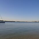 Boats on the Water. Gold Coast QLD by MardiGCalero