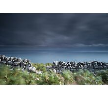 Land, Sea and Sky, Badbea, Caithness, Scotland Photographic Print
