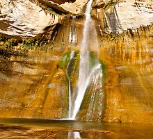 Lower Calf Creek falls by Alex Cassels