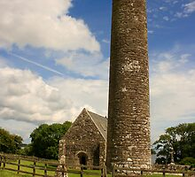 Round Tower by Adrian McGlynn