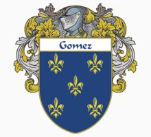 Gomez Coat of Arms/Family Crest by William Martin