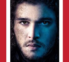 Game of Thrones: John Snow - Kit Harrington by LemonScheme