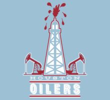 Houston Oilers Retro Shirt by fleshandbone
