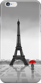 Paris  (iPhone Case) by CarolinaMatthes
