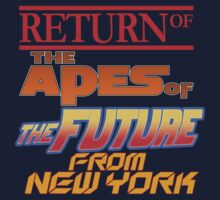 Return Of The Apes Of The Future From New York! by inkpossible