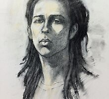 Portrait of Ash by Roz McQuillan