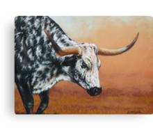 Bulldust Canvas Print