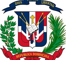 Dominican Republic Coat of Arms  by abbeyz71