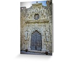 The Reign of Spain - Ultra-baroque in Texas Greeting Card