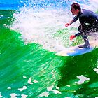 Just Surf - Santa Cruz by Mark Tisdale