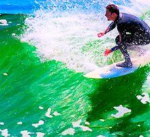Just Surf - Santa Cruz by Mark Tisdale