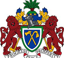 Gambia Coat of Arms  by abbeyz71