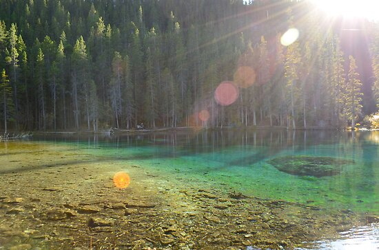 Grassi Lakes - Autumn Light by Roxanne Persson