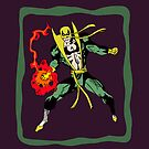 Iron Fist: Old Sketch Reborn 10 (iPad Case) by William Brennan