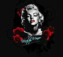 Marilyn Monroe (Blackout) by RichTemper