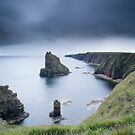 Long Exposure, Stacks of Duncansby, Caithness, Scotland by Iain MacLean