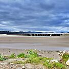 Arnside Viaduct. by Lilian Marshall